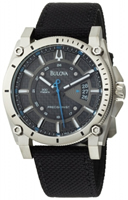 Buy Bulova Precisionist Champlain Mens Date Display Watch - 96B132 online