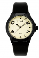 Buy French Connection Ladies Leather Watch - FC1065BI online