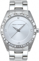 Buy French Connection Ladies Stone Set Watch - FC1008S online