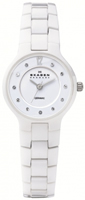 Buy Skagen Ceramic Ladies Swarovski Crystal Watch - 572SSXWC online