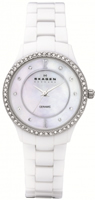Buy Skagen Ceramic Ladies Swarovski Crystal Watch - 347SSXWC online