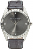 Buy French Connection Ladies Stone Set Watch - FC1008SB online