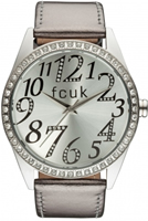 Buy French Connection Ladies Stone Set Watch - FC1012SS online