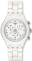 Buy Ladies Swatch Full Blooded White Watch online