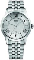 Buy Mens Hugo Boss Pure Silver Watch online