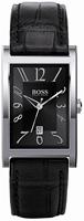 Buy Mens Hugo Boss Dark Strap Watch online