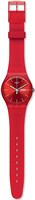 Buy Unisex Swatch Red Rebel Watch online