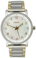 Buy Ladies Dkny Mother Of Pearl Eligible  Watch online