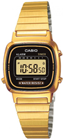Buy Ladies Casio Collection Alarm Chronograph Watch online