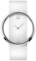 Buy Ladies Calvin Klein White Glam Watch online
