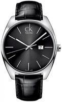 Buy Mens Calvin Klein Black Exchange Watch online