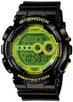 Buy Unisex Casio G-shock Green Dialwatch online