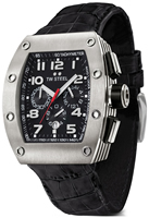 Buy Mens Tw Steel Ceo Black Tonneau Watch online