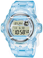 Buy Ladies Casio Baby-g Alarm Blue Chronograph Watch online