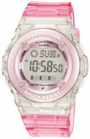 Buy Ladies Casio Baby-g Alarm Pink Chronograph Watch online