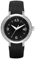 Buy Ladies Armani Exchange Black Out Watch online