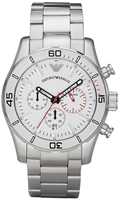 Buy Mens Emporio Armani Luxe Chronograph Watch online