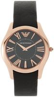 Buy Mens Emporio Pvd Rose Plate Armani Super Slim Watch online