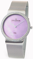 Buy Ladies Skagen Pink Mop Watch online