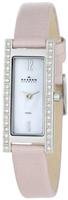 Buy Ladies Skagen Crystal Pale Pink Watch online