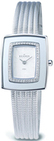 Buy Ladies Skagen Sparkling Case Border Watch online