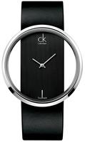 Buy Ladies Black Calvin Klein Glam Watch online