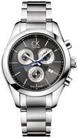 Buy Ladies Silver Calvin Klein Strive Chronograph Watch online