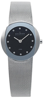 Buy Ladies Skagen Black Dial Mesh Bracelet Watch online
