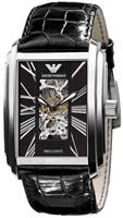 Buy Mens Emporio Armani Meccanico Automatic Dress Watch online
