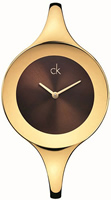 Buy Ladies Calvin Klein Brown Dial Suspension Watch online