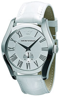 Buy Mens White Emporio Armani Watch online