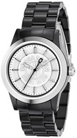 Buy Ladies Dkny Black Steel Fashion Watch online