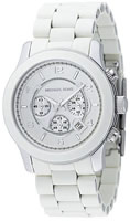 Buy Mens Michael Kors White Chronograph Watch online