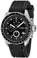 Buy Mens Black Fossil Decker Chronograph Watch online