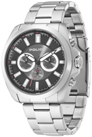 Buy Mens Police Silver Sovereign X Chronograph Watch online