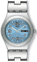Buy Ladies Swatch Ciel Clair Solid Watch online