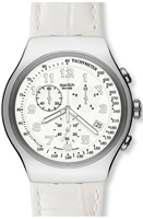 Buy Ladies Swatch Your Turn White Chronograph Watch online