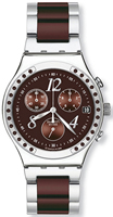 Buy Ladies Swatch Dreambrown Ceramic Chronograph Watch online