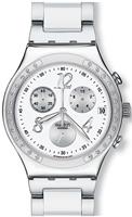 Buy Ladies Swatch Dreamwhite Chronograph Watch online