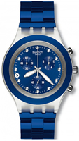 Buy Unisex Swatch Full-blooded Navy Watch online