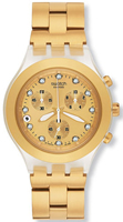 Buy Unisex Swatch Full-blooded Gold  Watch online