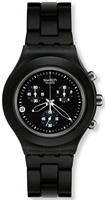 Buy Mens Swatch Blooded Smoky Black  Watch online