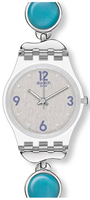 Buy Ladies Swatch Loburia Blue Watch online