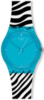 Buy Mens Swatch Blue Zeb Watch online