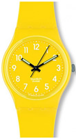 Buy Unisex Swatch Lemon Time Watch online
