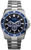 Buy Mens Guess Blue Dial Focus Watch online