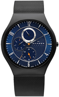 Buy Mens Blue Dial Skagen Titanium Watch online