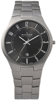 Buy Mens Black Skagen Titanium Watch online