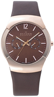 Buy Mens Brown Skagen Executive Black Label Watch online