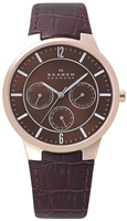 Buy Mens Brown Skagen Watch online